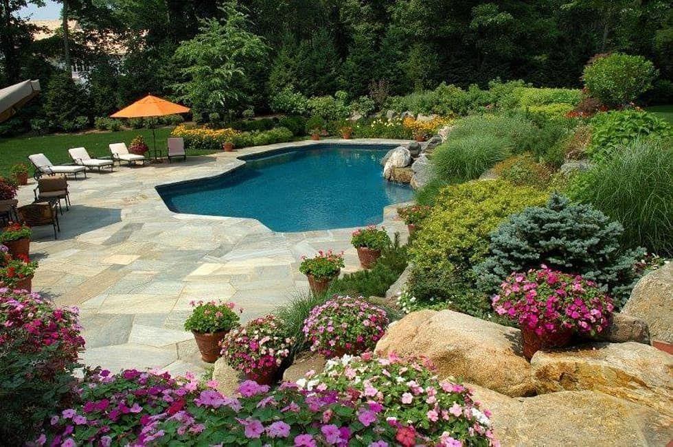 Piscine E Giardini.Piscina E Giardino Giardino In Stile Di Italiagiardini