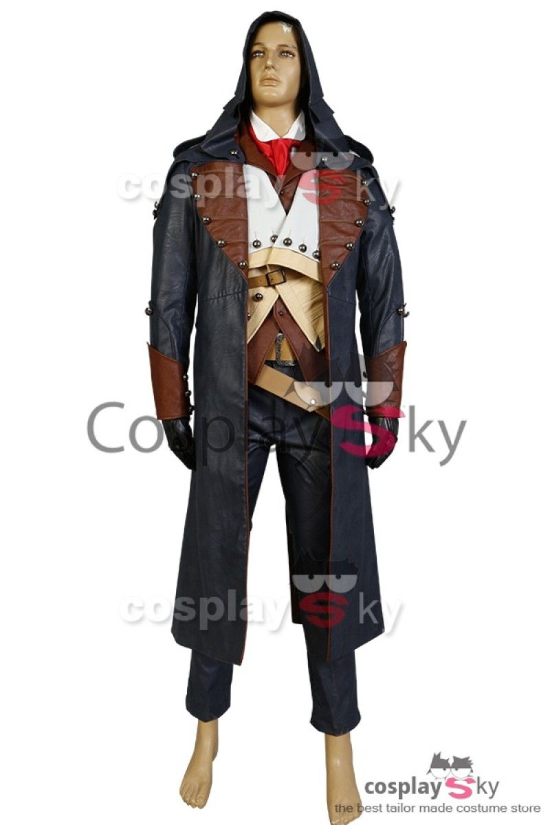 Assassin S Creed Unity Arno Dorian Outfit Cosplay Costume 8