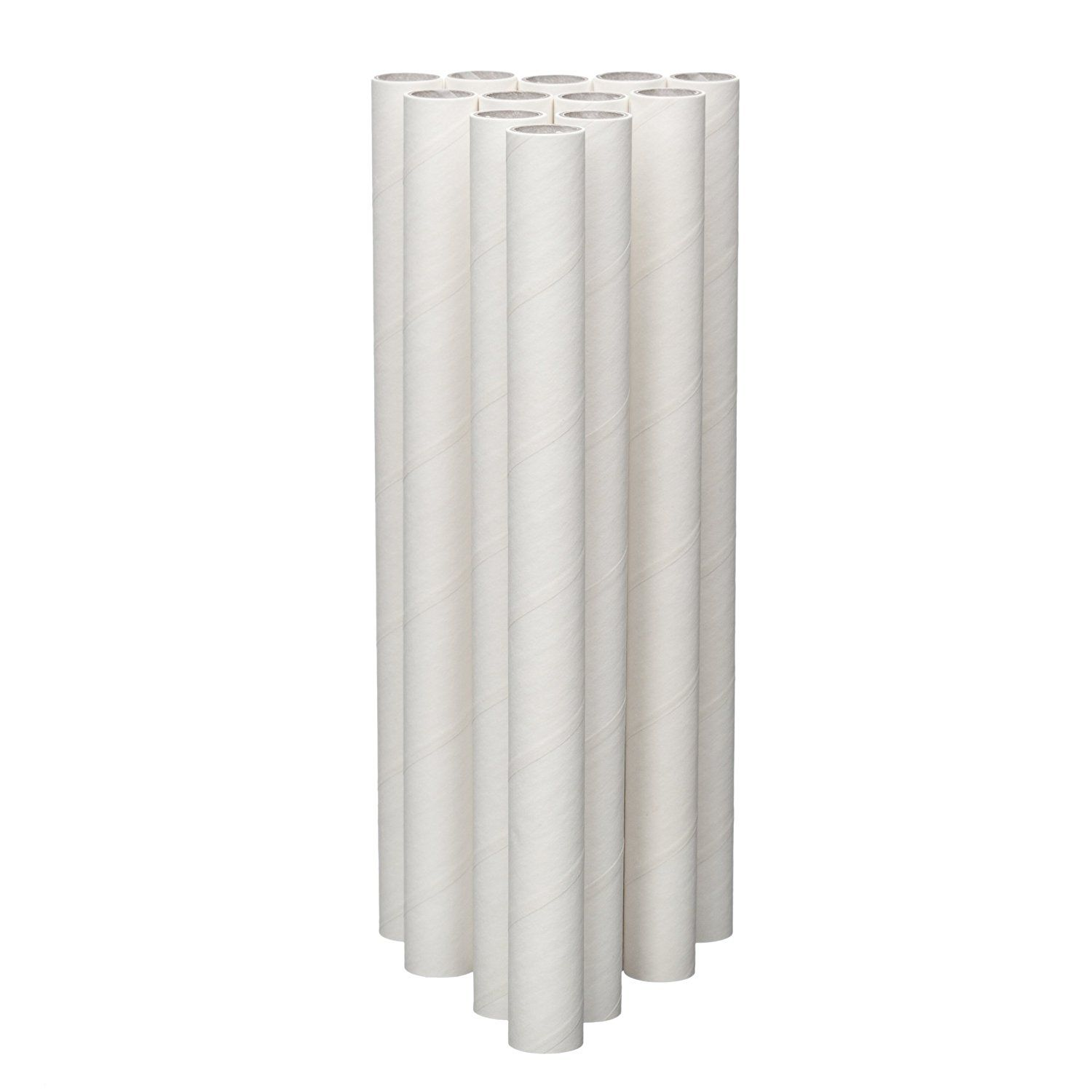 12-Pack 34004 Lady Mary//Ateco 4-Inch Parchment Coated Paperboard Dowels