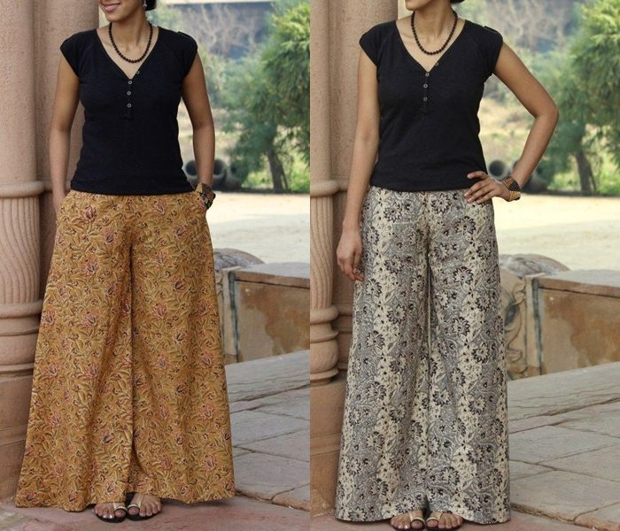 What To Wear With Indian Style Palazzo Pants 17 Chic Tops To Try