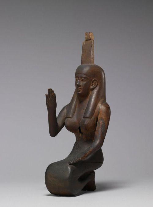 Statue of Nephthys - ca. 250-145 BC (Greco-Roman) Egypt. The...