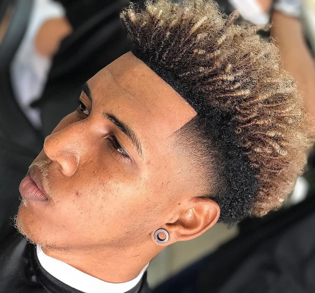 Twists x color temple fade black mens haircuts mia pinterest