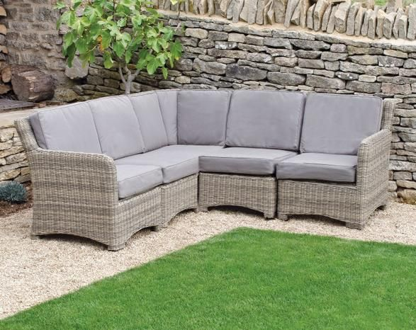 neptune wicker murano sofa modular l shape garden furniture outdoor living