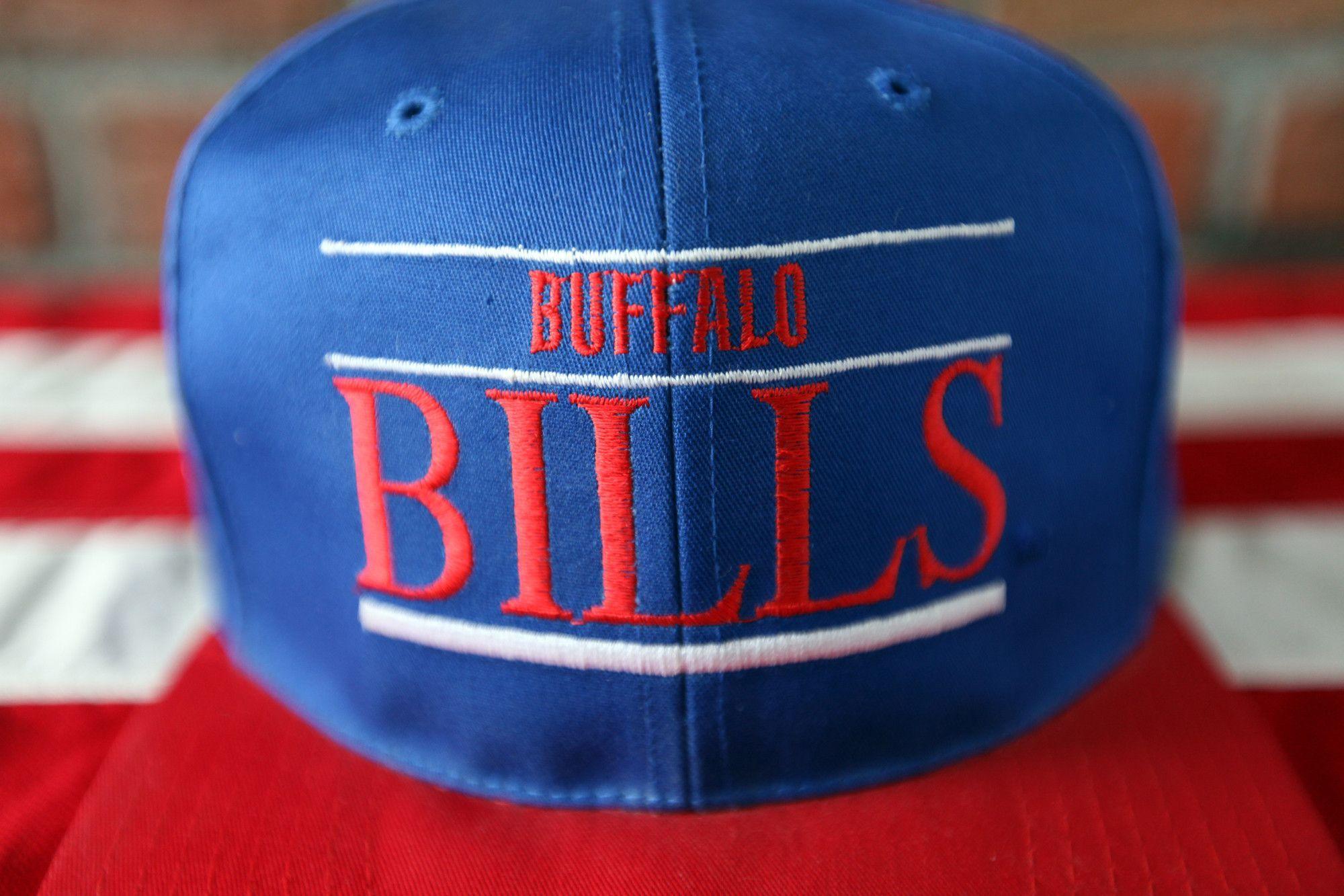 955839f9 Deadstock Vintage 90's Buffalo Bills Annco Professional Model ...