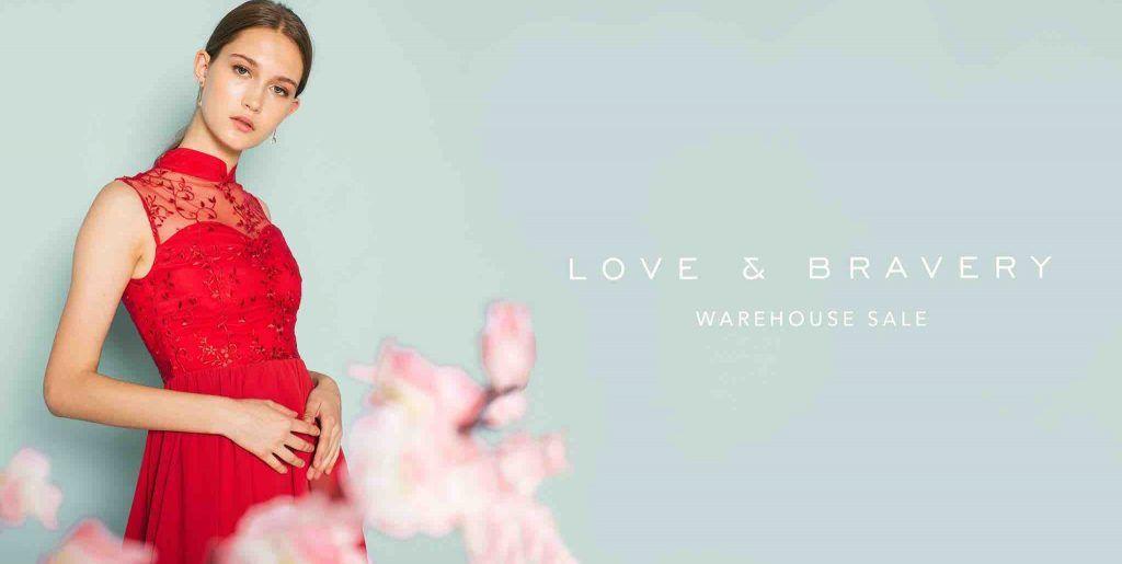 Love Bravery Singapore Warehouse Sale Happening At Suntec From 2 4 Feb 2018 Warehouse Sales Prom Dresses Bravery