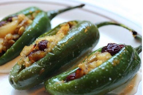 Shrimp-Stuffed Jalapeno Peppers recipe | appetizer recipes #cookingandhouseholdhints