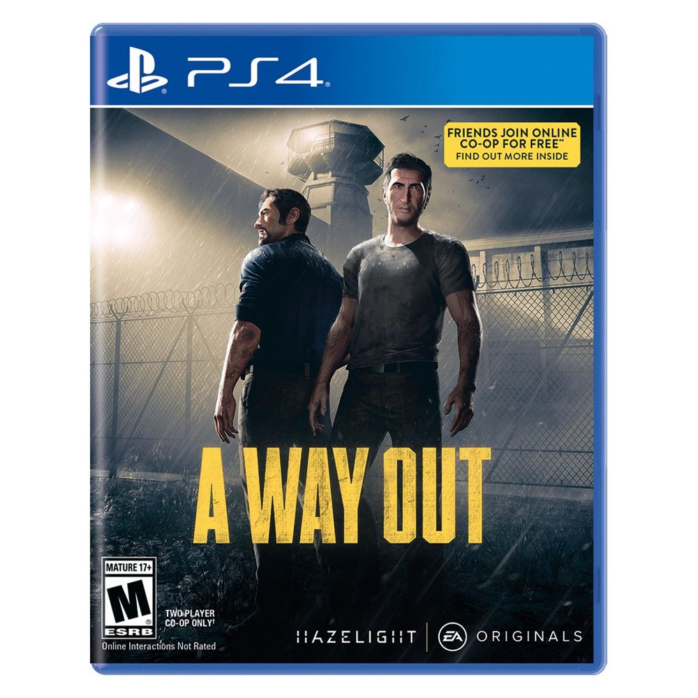 A Way Out PlayStation 4 Xbox one, Xbox, Xbox one games