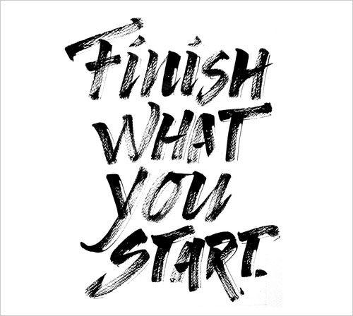 Finish to do