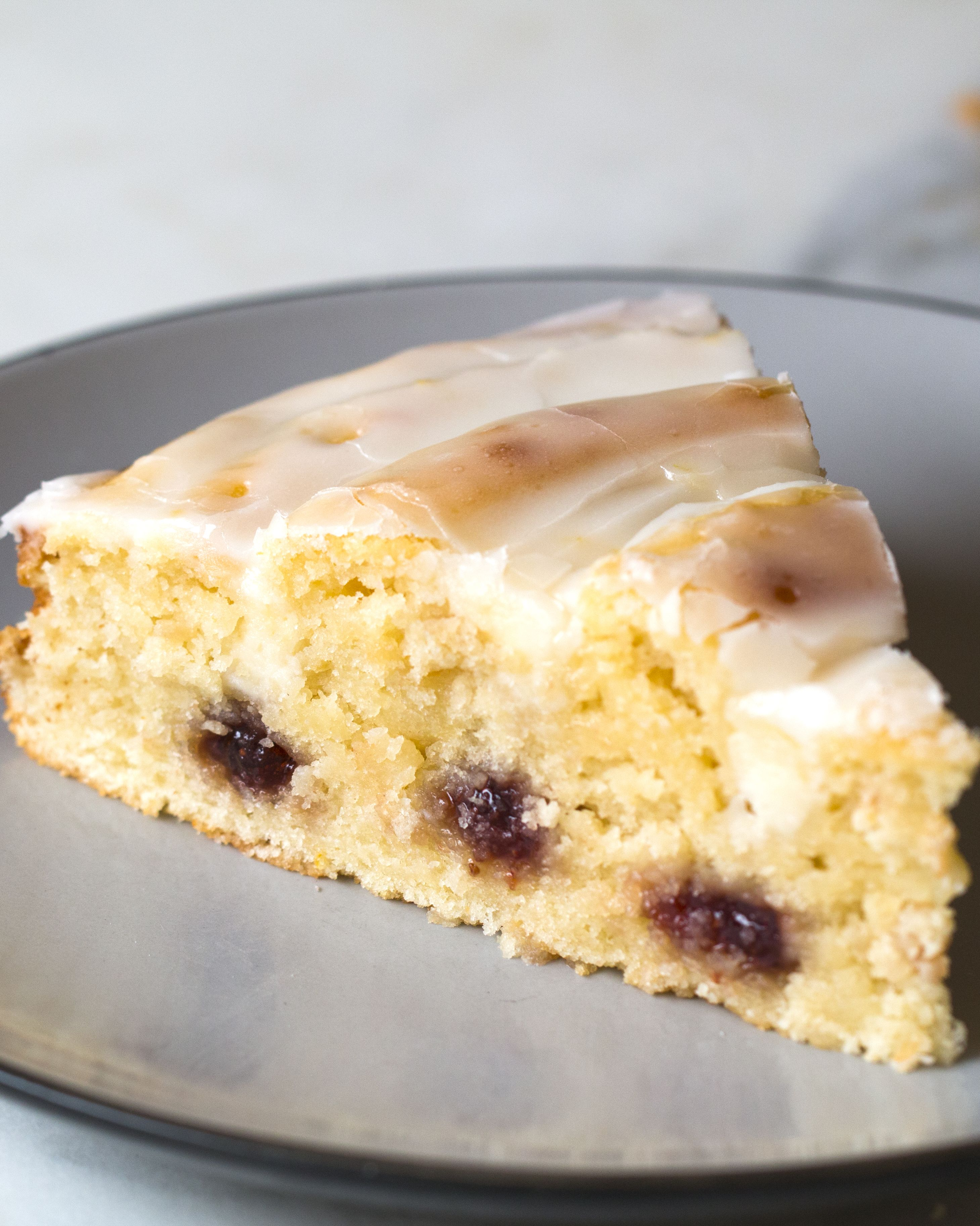 Strawberry Swirl Lemon Cake Recipe Yummy Things Pinterest