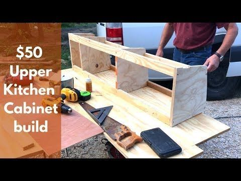 Photo of How to build an Upper Cabinet in your Van Build -Custom Conversion – YouTube #Bu…