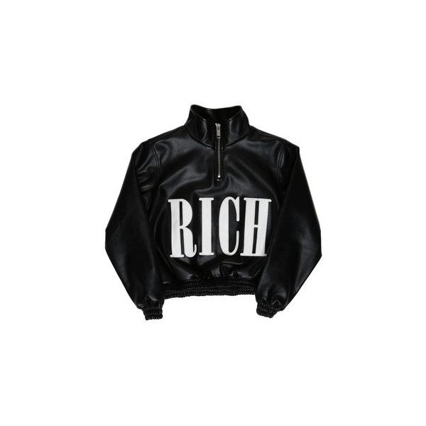COTTON CANDY HIGHNECK JACKET WOMEN / BLACK (€225) ❤ liked on Polyvore featuring outerwear, jackets, tops, black, coats & jackets, joyrich, high neck jacket and cotton jacket