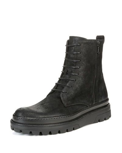 VinceEdgar Leather Boots RiBrac5C