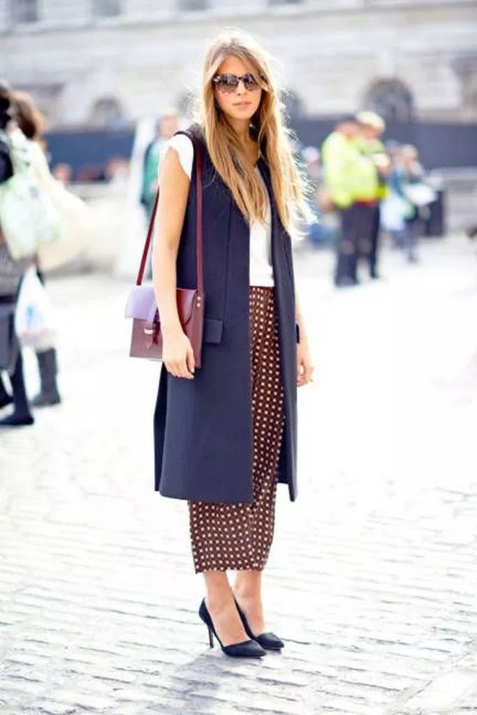 42 beliebte Frauen lange Weste Outfit Ideen für den Herbst ...