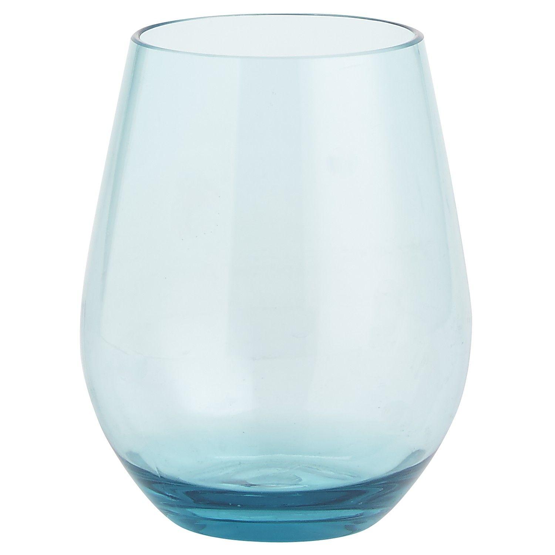 Acrylic Stemless Wine Glasses Home Decor