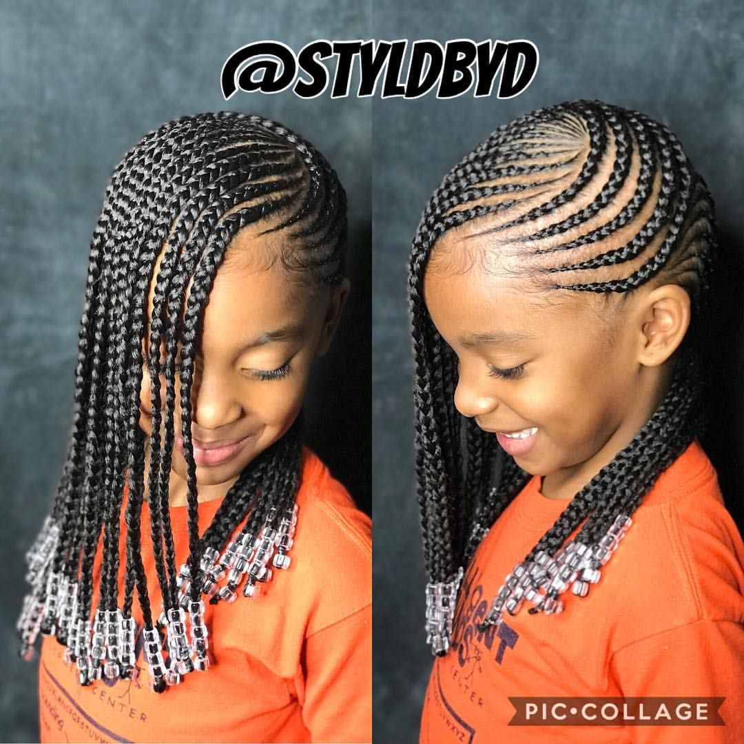I Only Service Ages 7 And Up Girls Cornrow Hairstyles Cornrows For Little Girls Braid Styles For Girls