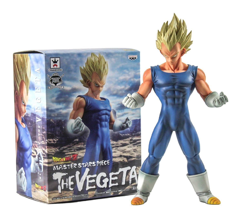 Anime DragonBall Z Master Stars Piece The Vegeta PVC Figure New No Box