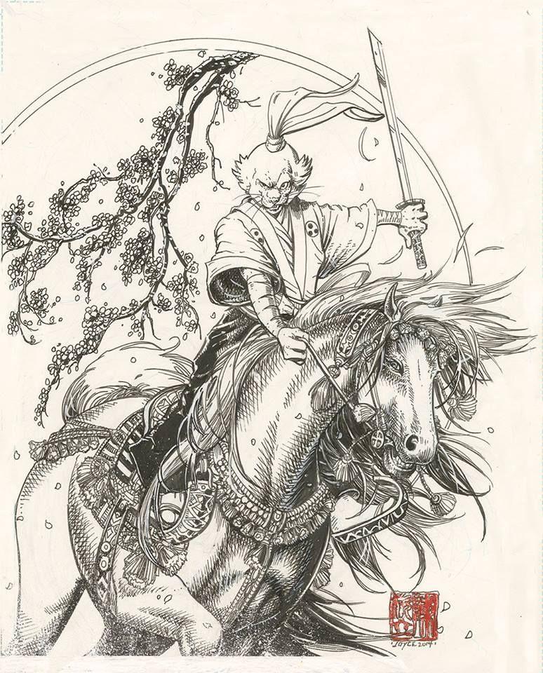 Usagi Yojimbo by Joyce Chin *