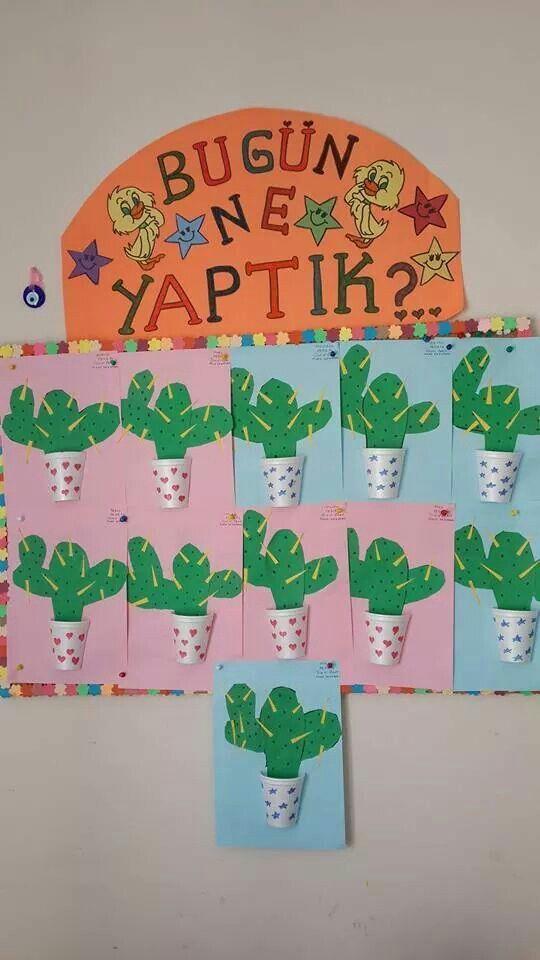 cactus craft idea #cactuscraft
