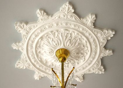 Authentic Hand Crafted Victorian Plaster Ceiling Medallion Vintage Reproduction Recreation Ceiling Medallions Victorian Ceiling Medallions Plaster Ceiling