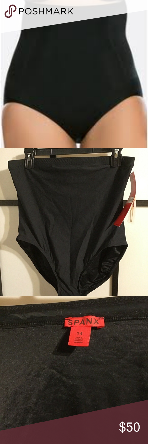 277b5e2f8a96e Spanx Shapewear 1366 High Waist Brief Size 14 Must have for any wardrobe  New with tags Smoke and pet free environment Spanx Shape wear Can double as  bottom ...