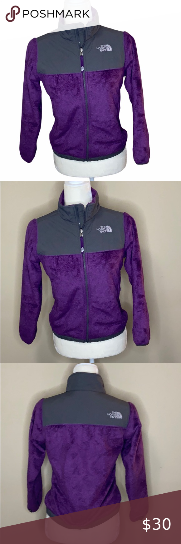 The Northface Osito Purple Jacket Kids North Face Jackets Purple Jacket North Face Jacket [ 1740 x 580 Pixel ]