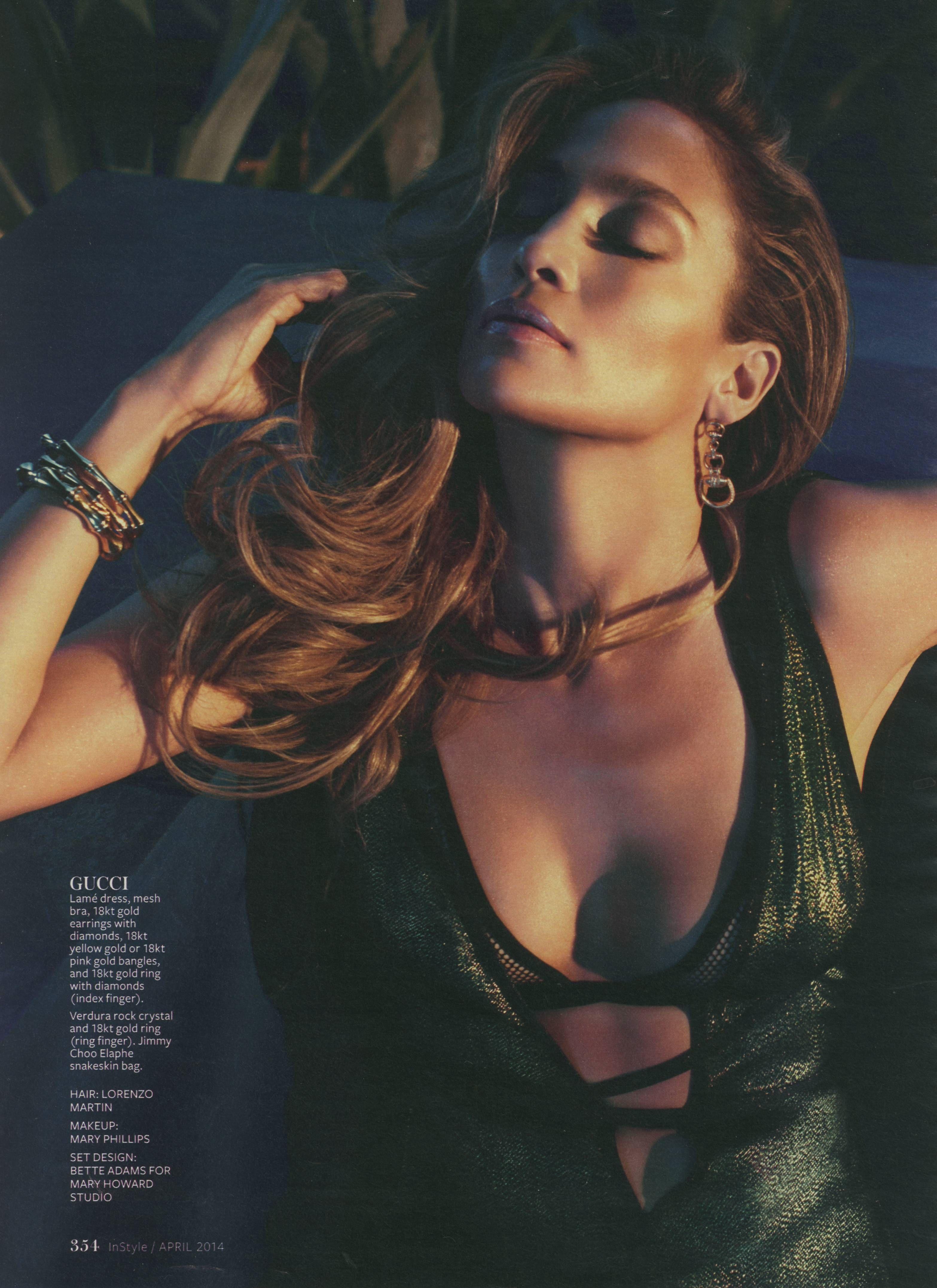 Jennifer lopez april instyle magazine pinterest jennifer