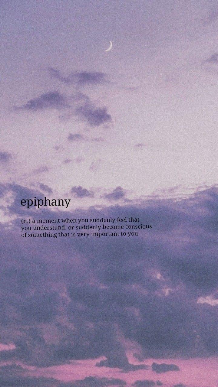 epiphany -  epiphany