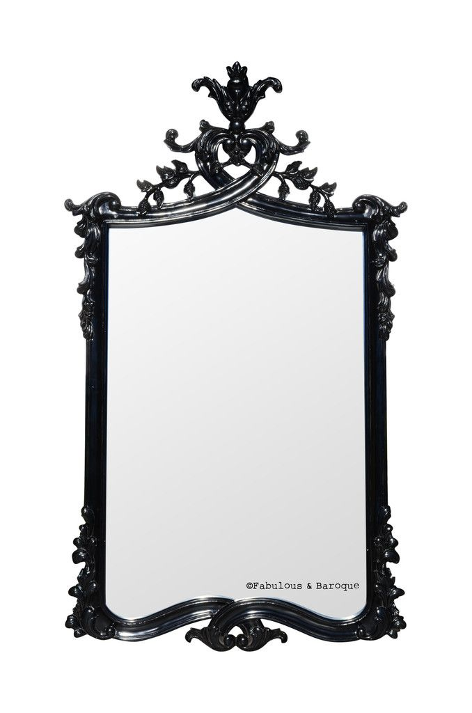 Baroque Black Mirrors