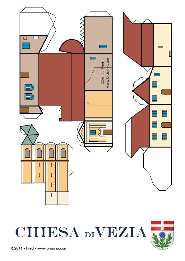 printable houses - Google Search Play Day Houses Paper Crafts