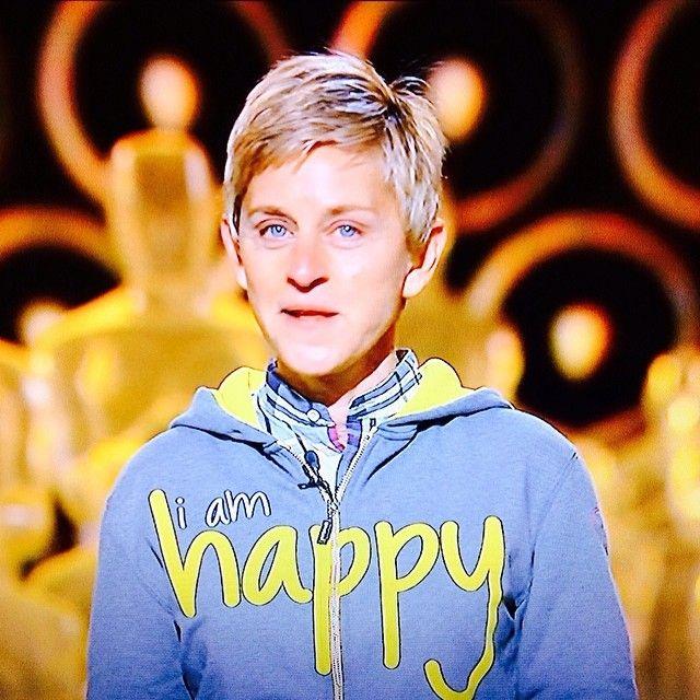 Ellen Degeneres I Am Happy Hoodie Www Peaceloveworld Com