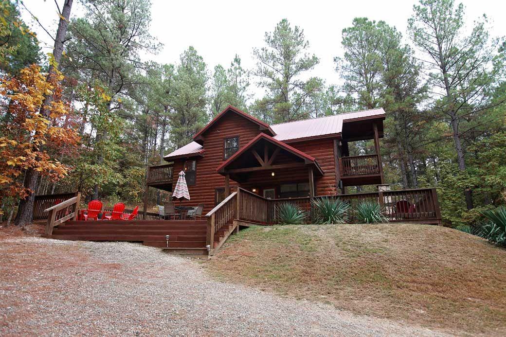 The Cinnamon Bear   Beavers Bend Luxury Cabin Rentals