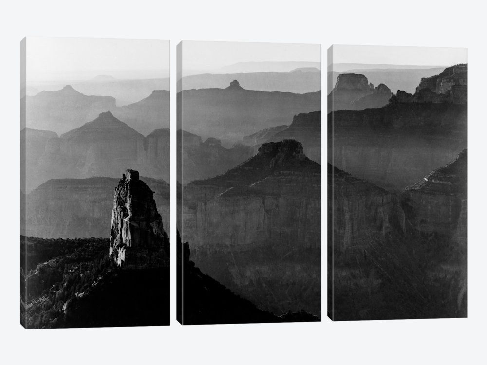 Grand Canyon National Park Iii Canvas Wall Art By Ansel Adams Icanvas Grand Canyon National Park Canvas Wall Art National Parks