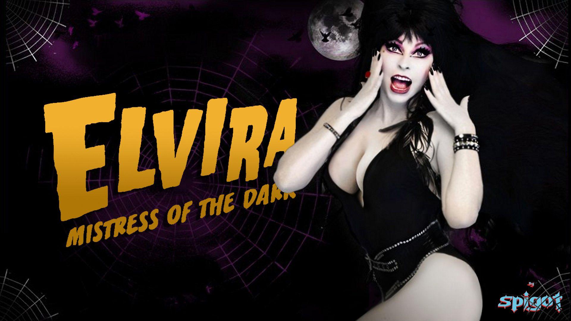 Elvira Wallpaper Cassandra Peterson Mistress Classic Movies