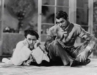 Jimmy Stewart & Cary Grant,                          The Philadelphia Story