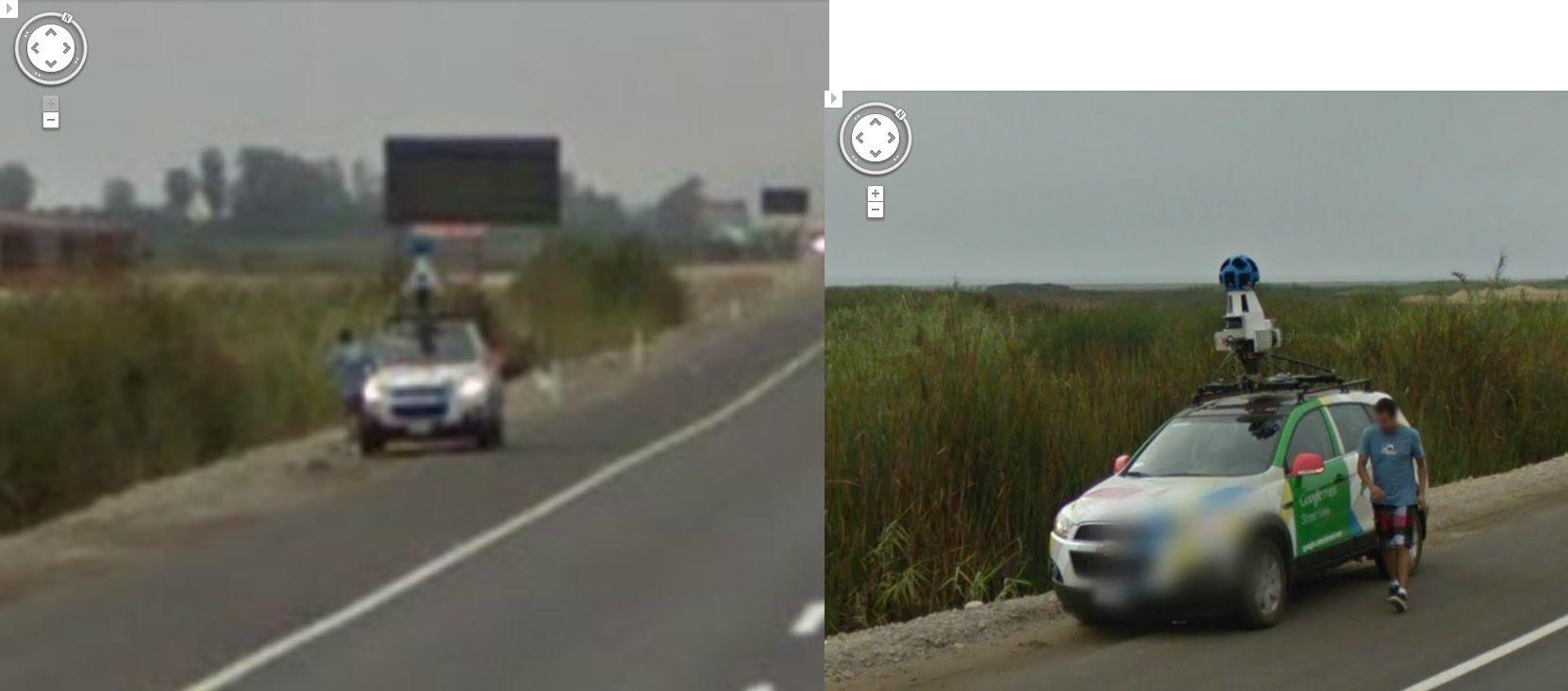 Hilarious Google Street View Captures the Google Street