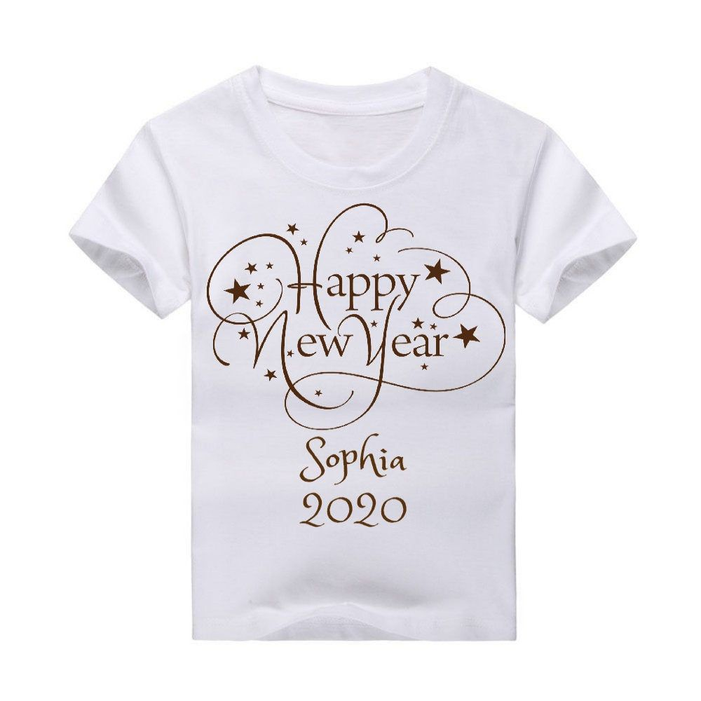 New Year shirt, Personalized Happy New Year shirt,