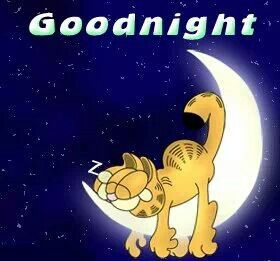Nighty night! :-) I am tired so off to dreamland for me! Sweet dreams everybody <3