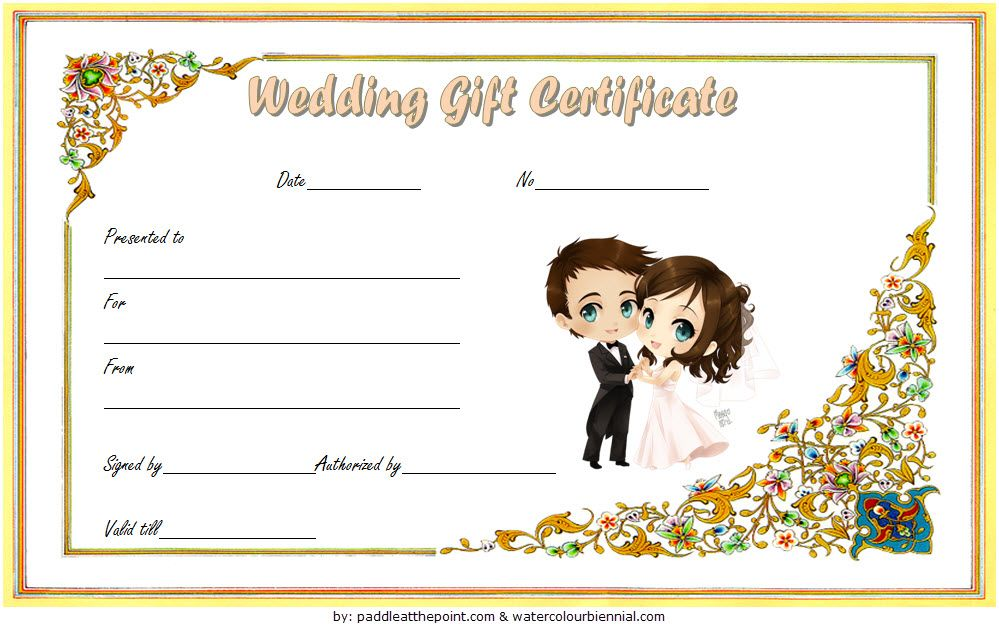 Wedding Gift Certificate Template Free Download 3 Photography Gift Certificate Gift Certificate Template Word Gift Certificate Template