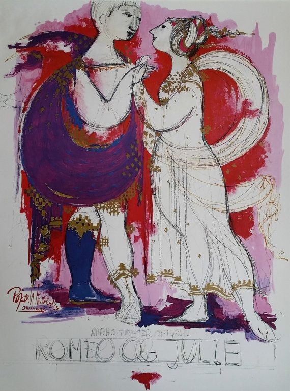 Hey, I found this really awesome Etsy listing at https://www.etsy.com/listing/207493847/1963-romeo-juliet-by-bjorn-wiinblad