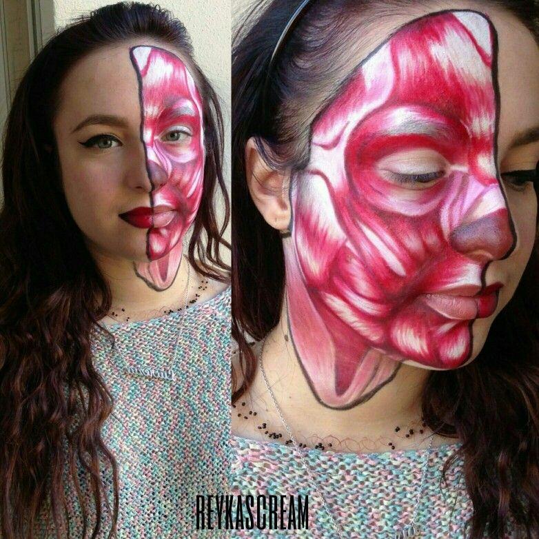 Model: Lucrezia Scarpa  #mbacademy #makeupforever #muscle