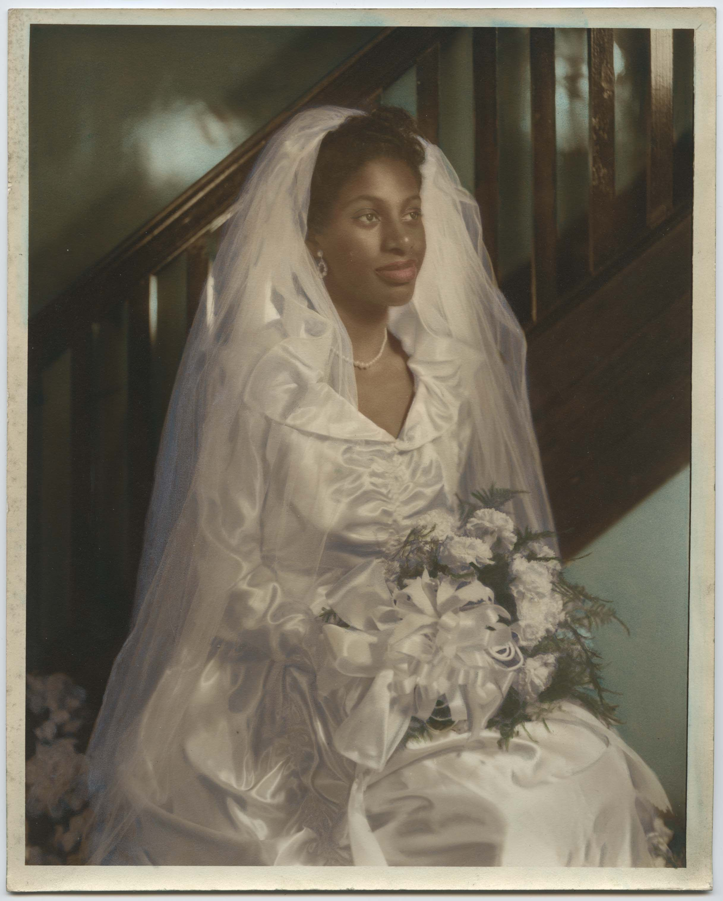 Vintage Wedding Dresses Nyc: African-American Bride (Circa 1950s)