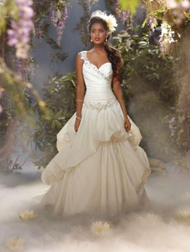 Disney Inspired Wedding Dresses - Alfred Angelo 2014 - Always in ...