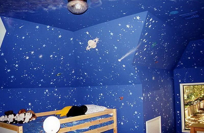 bedroom outer space themed bedroom blue stars space themed