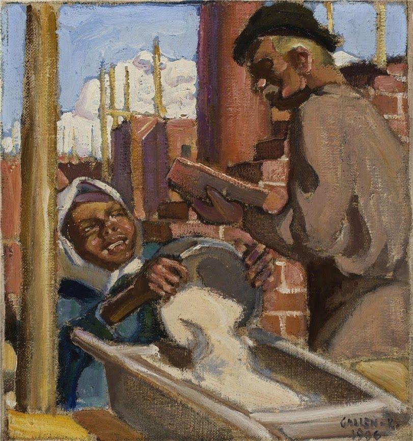 Akseli Gallen-Kallela (26 aprilie 1865 - 7 martie 1931), pictor şi grafician finlandez   - Building