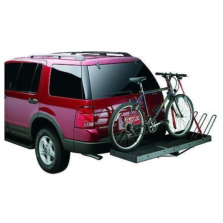 Trailer Hitch Luggage Rack 601009 Lund Receiver Hitch Cargo Carrier Accessory  Bike Carrier