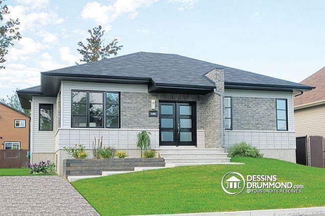 Plan De Maison Unifamiliale Lotus No 3128 Tiny Houses House