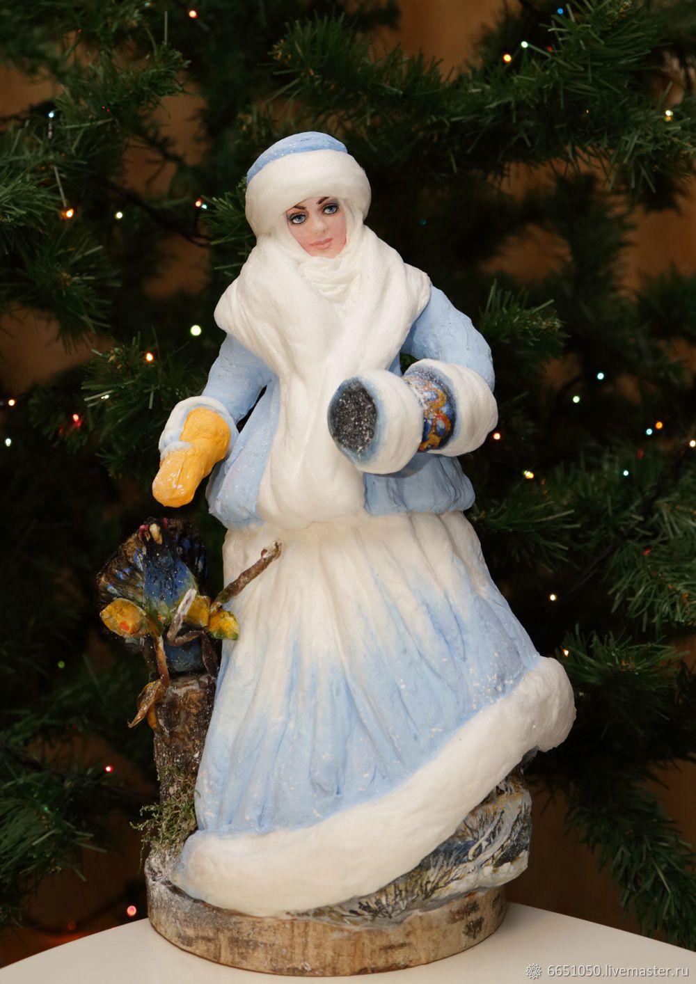 Новогодняя игрушка из ваты СНЕГУРОЧКА – купить или ...