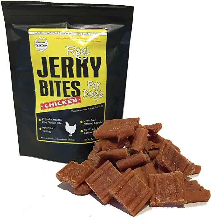 Amazon Com Petzpaw Beef Jerky Dog Treats All Natural Healthy