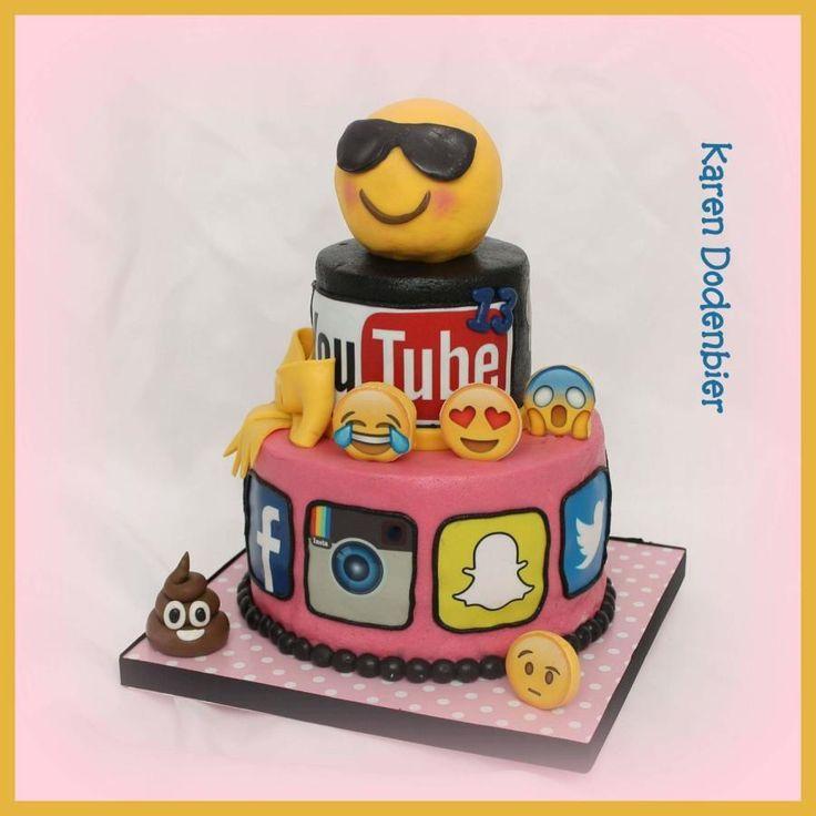 Kptallat a kvetkezre emoji cake AZ Tortk AZ
