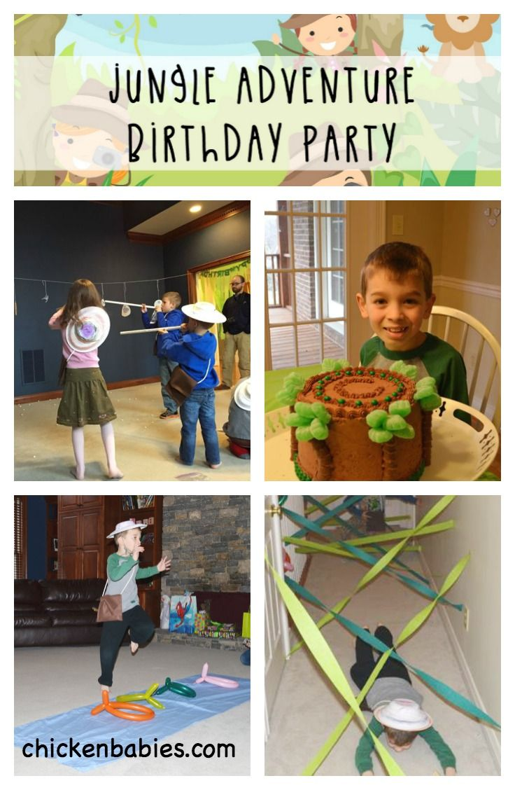 Jungle Adventure Birthday Party #safaribirthdayparty
